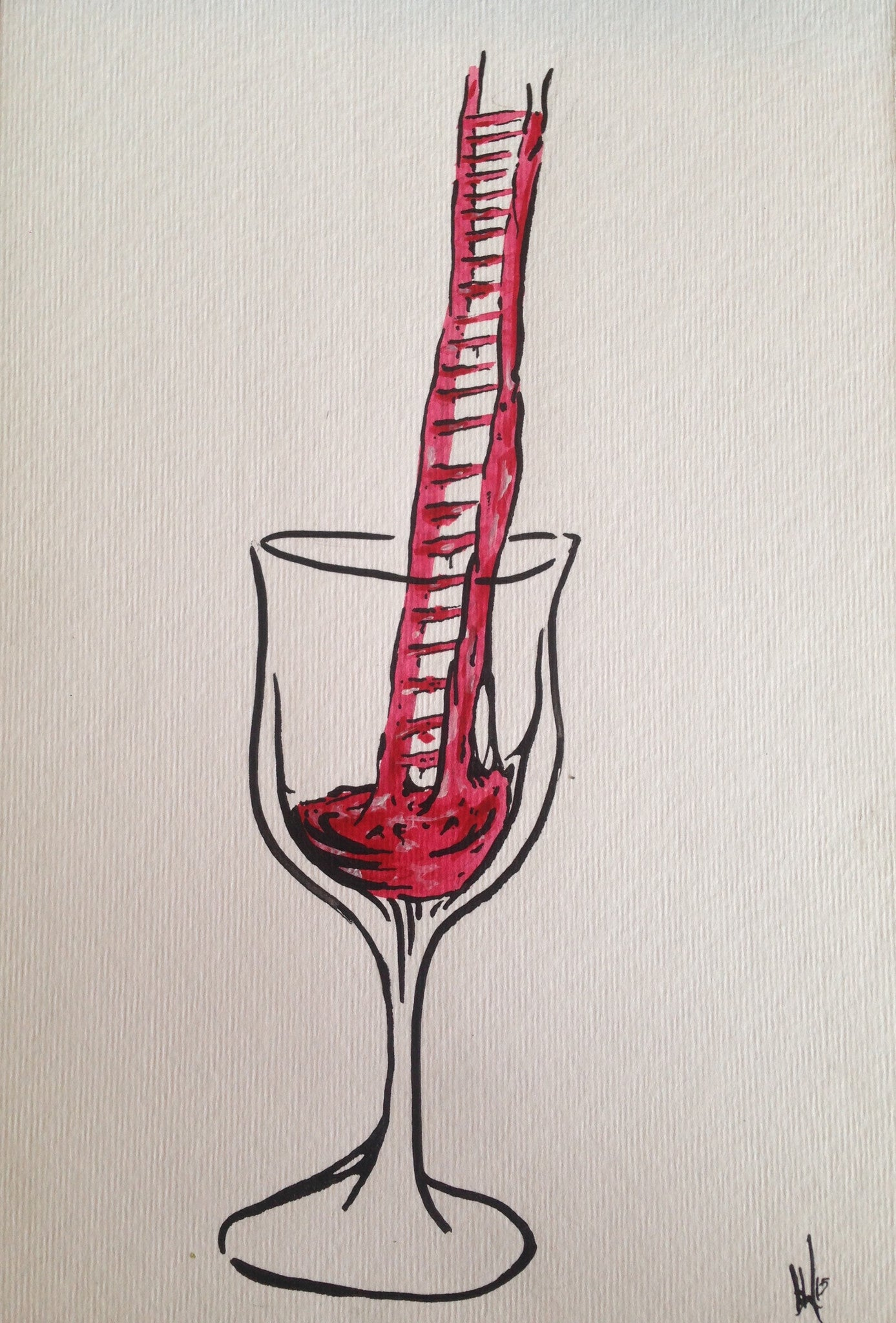 Wine ladder