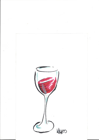 Glass of red original