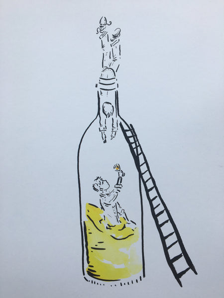 Into the bottle