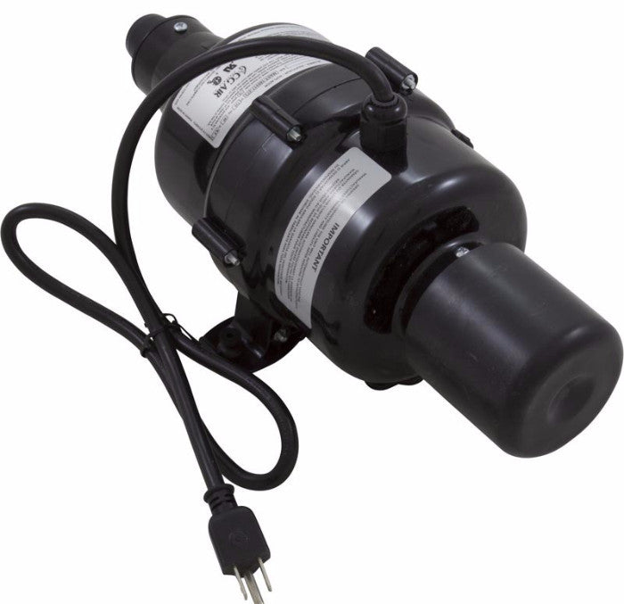 Millenium Air Blower, 115v,9.5a,300W Heater, Air Switch, Cord (MAST-300-750-120/60-SAM01-A)