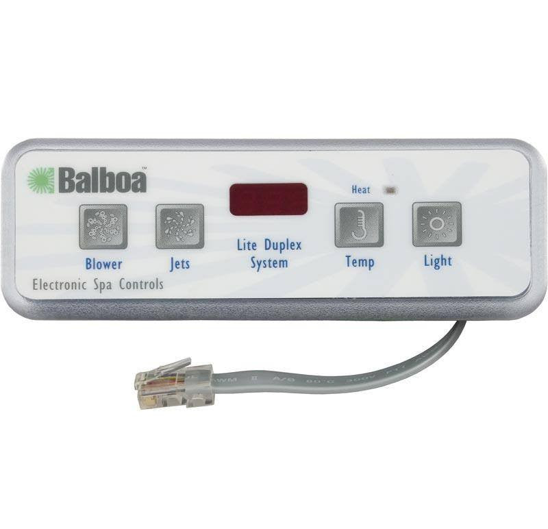 Balboa Control System Infinity INF107, Control Box w/Topside (54585 on