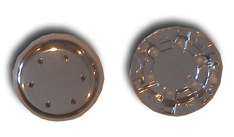 Air Injector Cap, 7/8in OD, 6 hole, Chrome