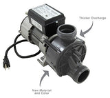 Hydrabaths Bath Pump, 607500SD-RS, 8 amp, Air Switch, Cord, HyFlo