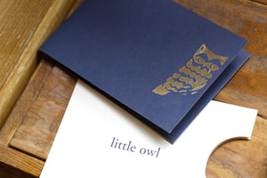 Little Owl Gift Card Holders