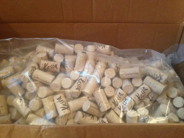 Corks are in!