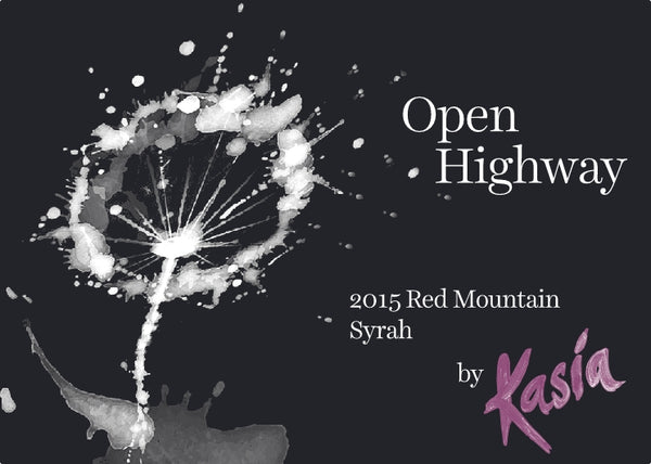 Wine- Open Highway - 2015 Syrah