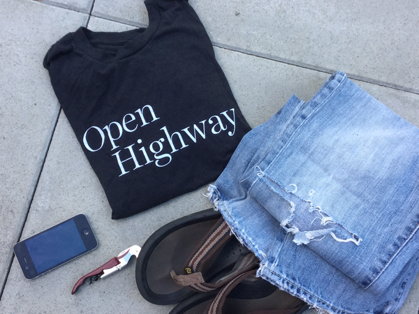 T-shirt - Open Highway Mens
