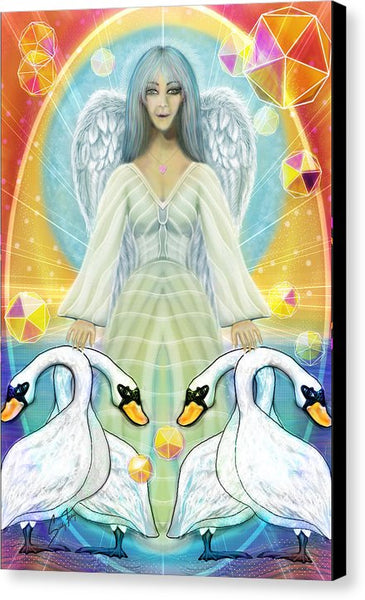 Archangel Haniel - Canvas Print