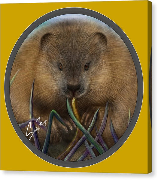 Beaver Spirit Guide - Canvas Print