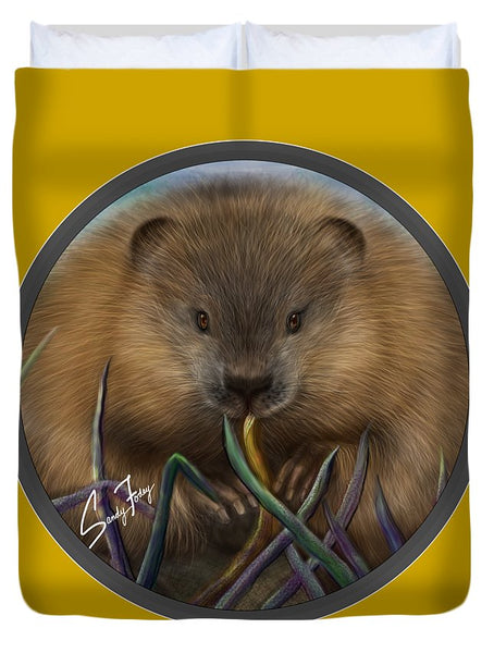 Beaver Spirit Guide - Duvet Cover