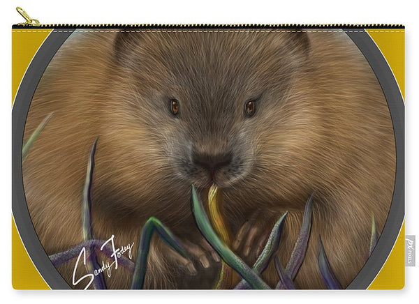 Beaver Spirit Guide - Carry-All Pouch