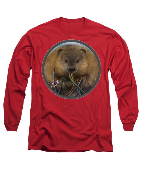 Beaver Spirit Guide - Long Sleeve T-Shirt