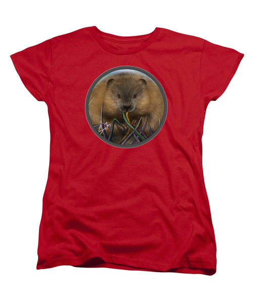 Beaver Spirit Guide - Women's T-Shirt (Standard Fit)