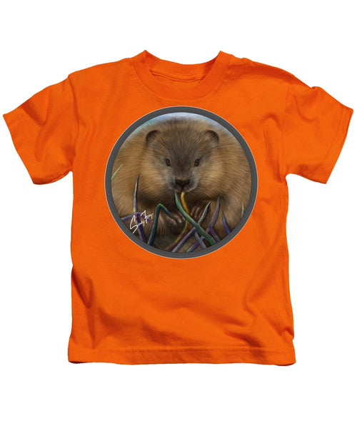 Beaver Spirit Guide - Kids T-Shirt