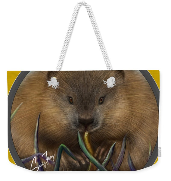 Beaver Spirit Guide - Weekender Tote Bag