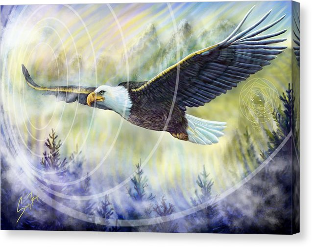 Eagle Rising - Canvas Print