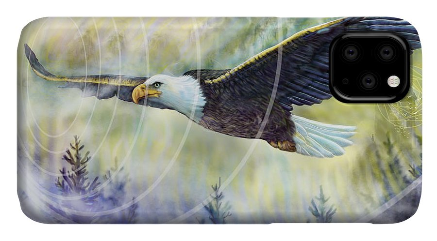 Eagle Rising - Phone Case