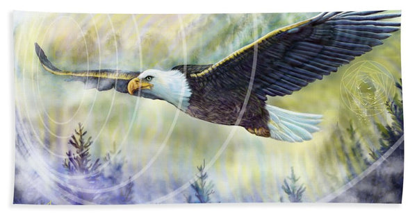 Eagle Rising - Bath Towel