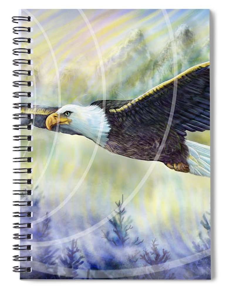 Eagle Rising - Spiral Notebook