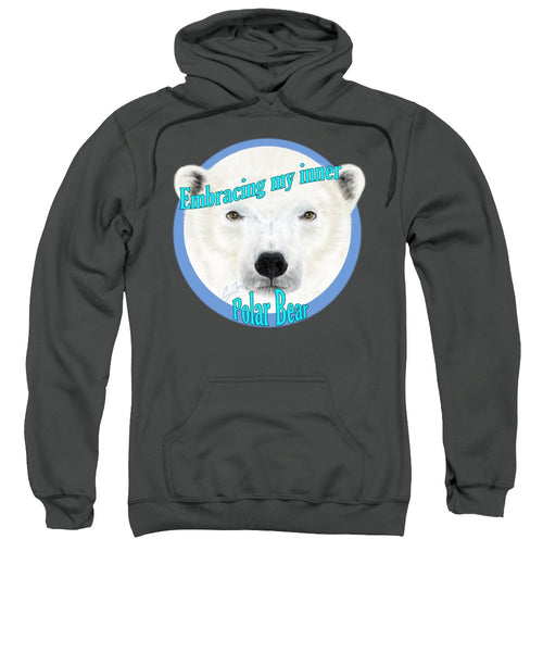 Embracing Polar Bear - Sweatshirt