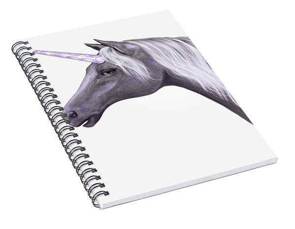 Galactic Unicorn - Spiral Notebook
