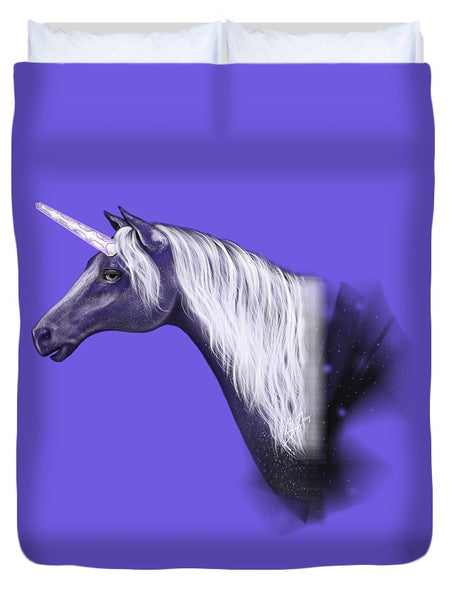 Galactic Unicorn - Duvet Cover