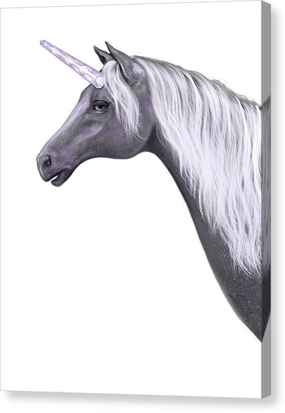 Galactic Unicorn V2 - Canvas Print