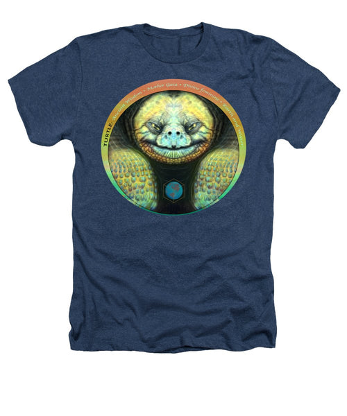 Giant Turtle Spirit Guide - Heathers T-Shirt