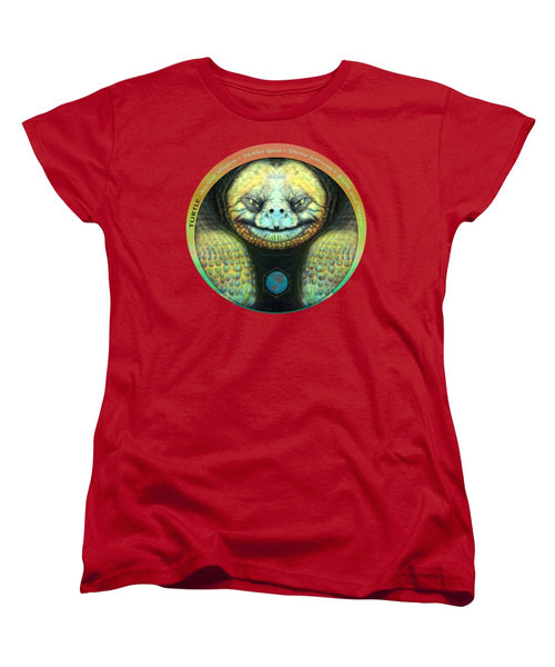 Giant Turtle Spirit Guide - Women's T-Shirt (Standard Fit)