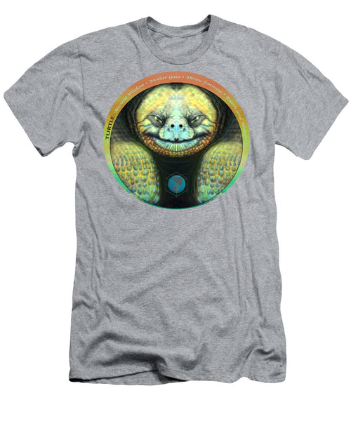Giant Turtle Spirit Guide - Men's T-Shirt (Athletic Fit)