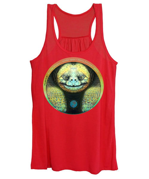 Giant Turtle Spirit Guide - Women's Tank Top