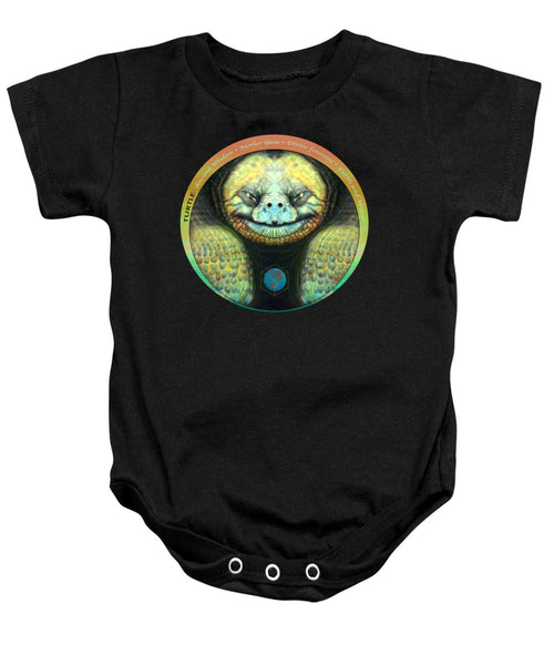 Giant Turtle Spirit Guide - Baby Onesie