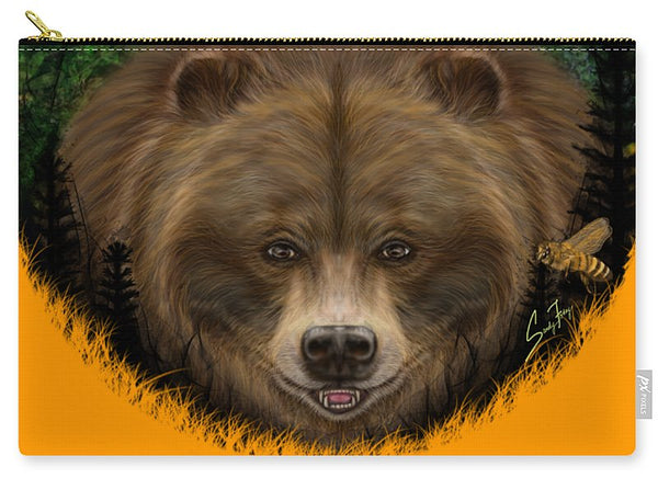 Honey Bear - Carry-All Pouch