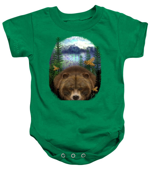 Honey Bear - Baby Onesie