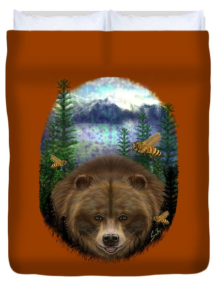 Honey Bear - Duvet Cover