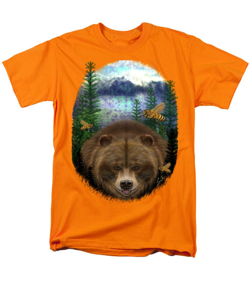 Honey Bear - Men's T-Shirt  (Regular Fit)