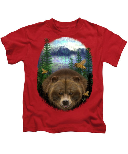Honey Bear - Kids T-Shirt