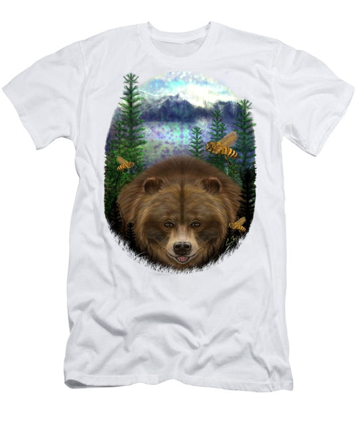 Honey Bear - Men's T-Shirt (Athletic Fit)