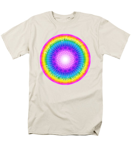 Keep Shining Beautiful One - Men's T-Shirt  (Regular Fit)