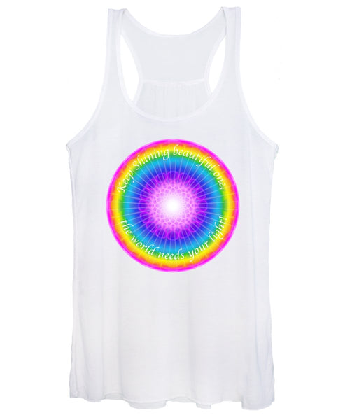 Keep Shining Beautiful One - Women's Tank Top