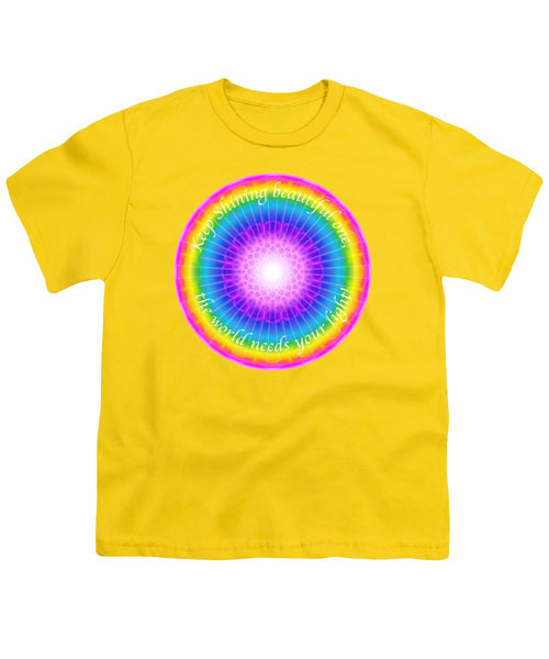 Keep Shining Beautiful One - Youth T-Shirt