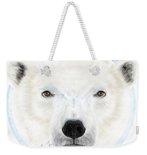Polar Bear Spirit - Weekender Tote Bag