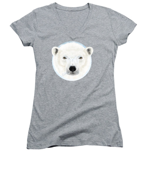Polar Bear Spirit - Women's V-Neck