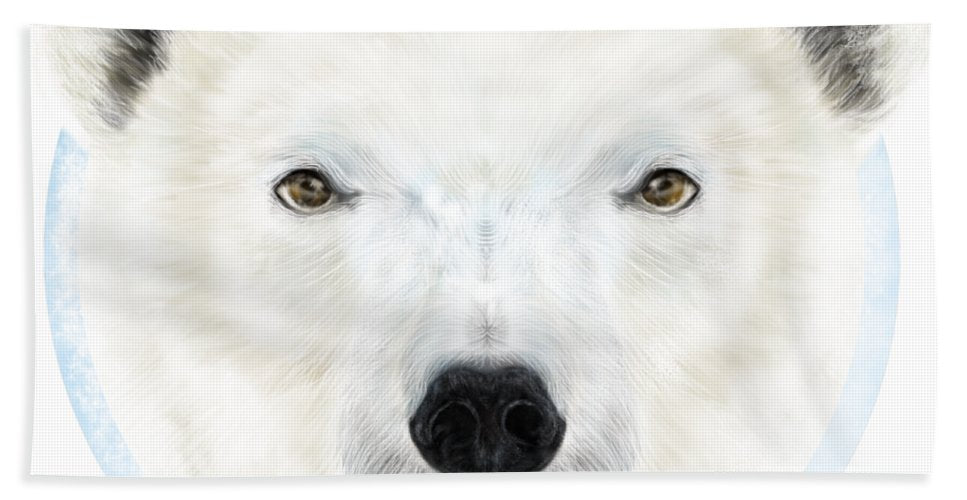 Polar Bear Spirit - Beach Towel
