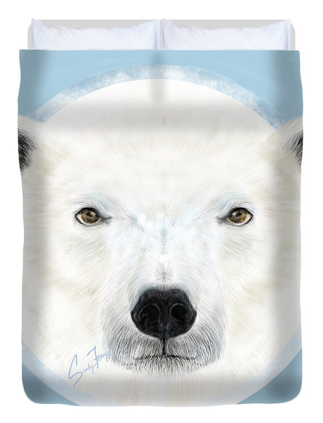 Polar Bear Spirit - Duvet Cover