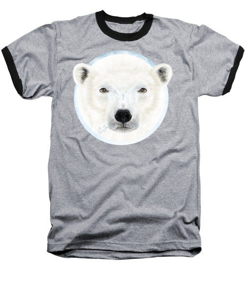 Polar Bear Spirit - Baseball T-Shirt