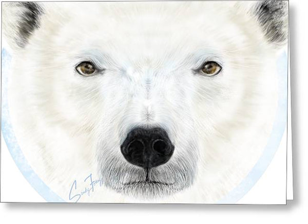 Polar Bear Spirit - Greeting Card