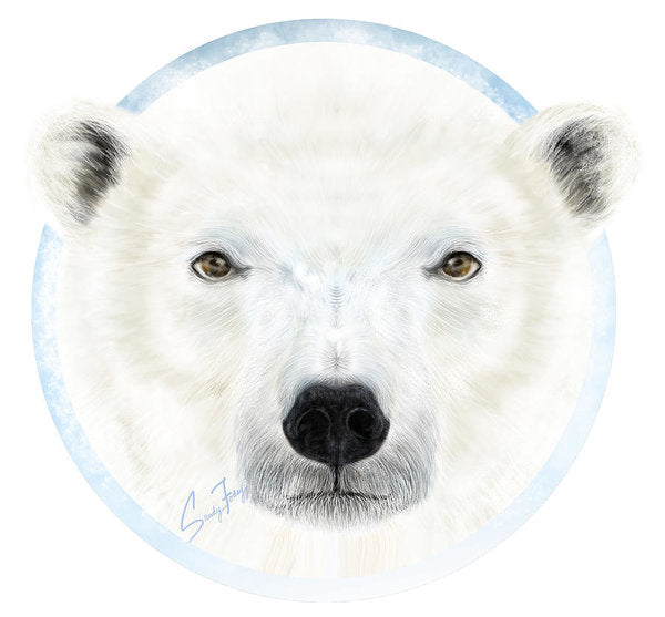 Polar Bear Spirit - Art Print