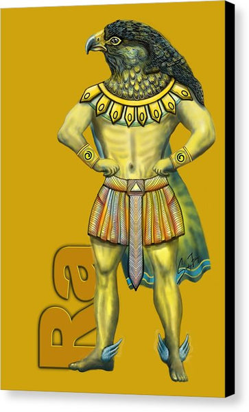 Ra, The Sun God - Canvas Print