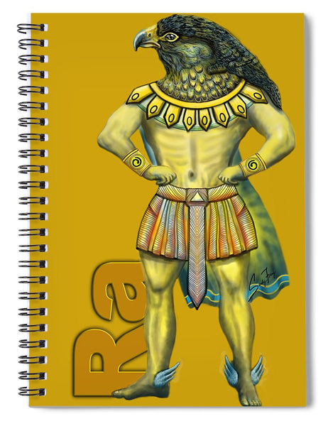 Ra, The Sun God - Spiral Notebook